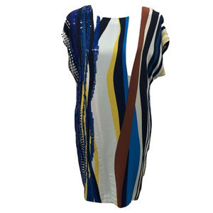 Diane Von Furstenburg Silk Shift Dress, Size P